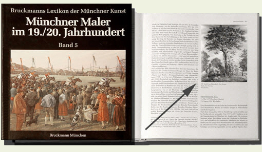 Encyclopaedia of Munich painters in the 19th Century